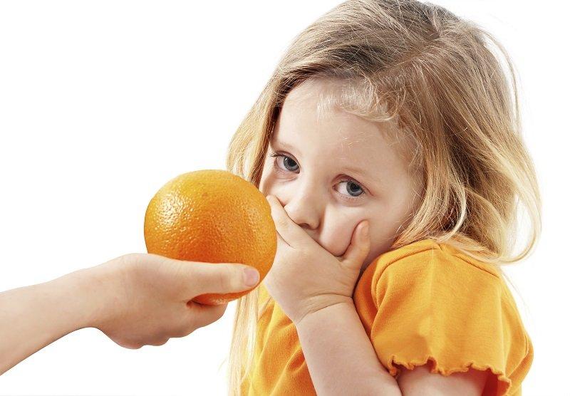 Аллергия на цитрусовые