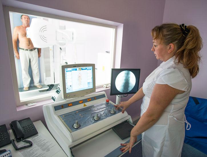 Маммография на удельной