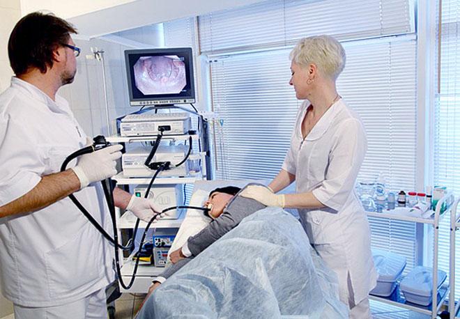 гастроскопия желудка фото