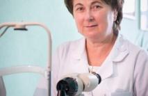 Татьяны Оксентюк - врач офальмолог высшей категории